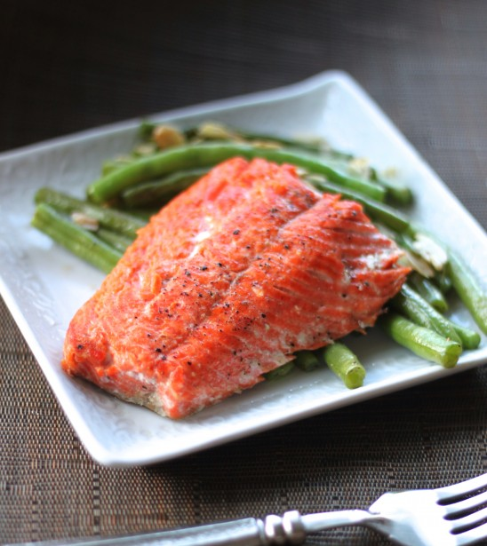 Cast Iron Skillet Salmon